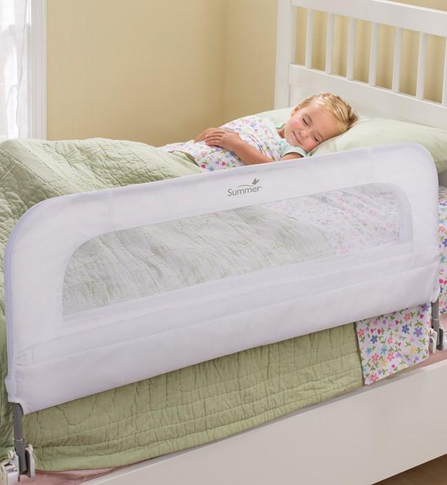 Защитные бортики для кровати: делаем выбор