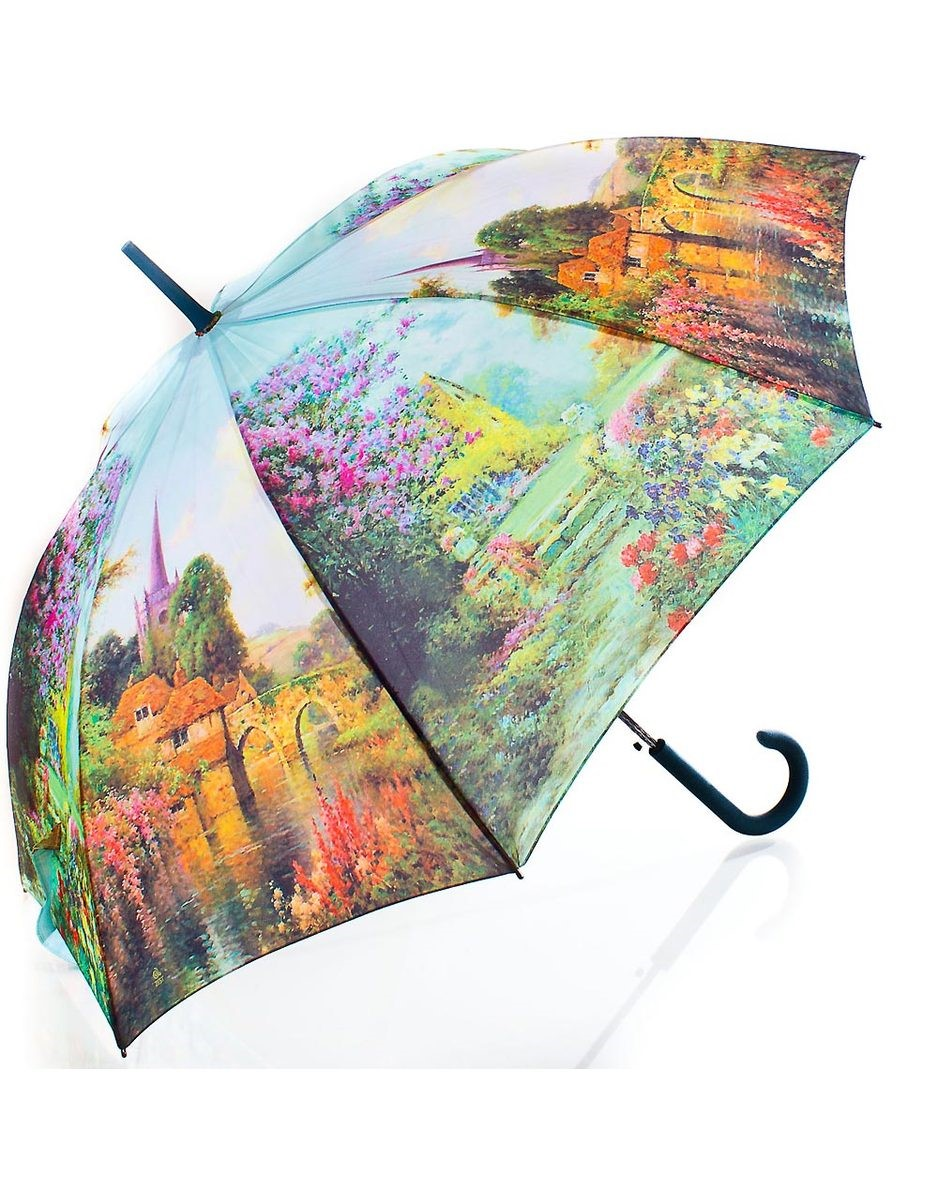 Какой зонт лучше всего способен защитить от непогоды